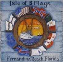 Isle of Eight Flags logo