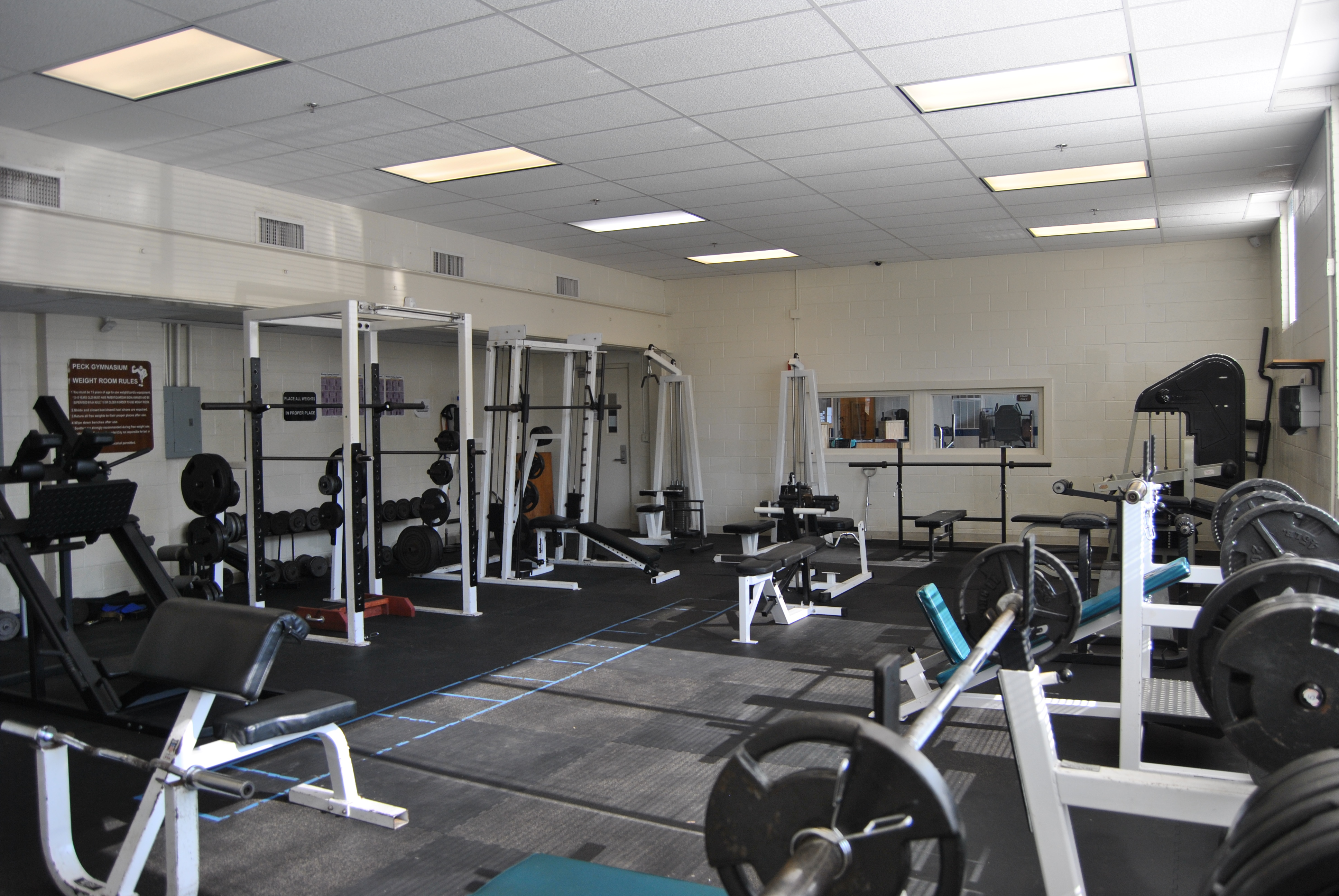 Peck Gym Weight Room