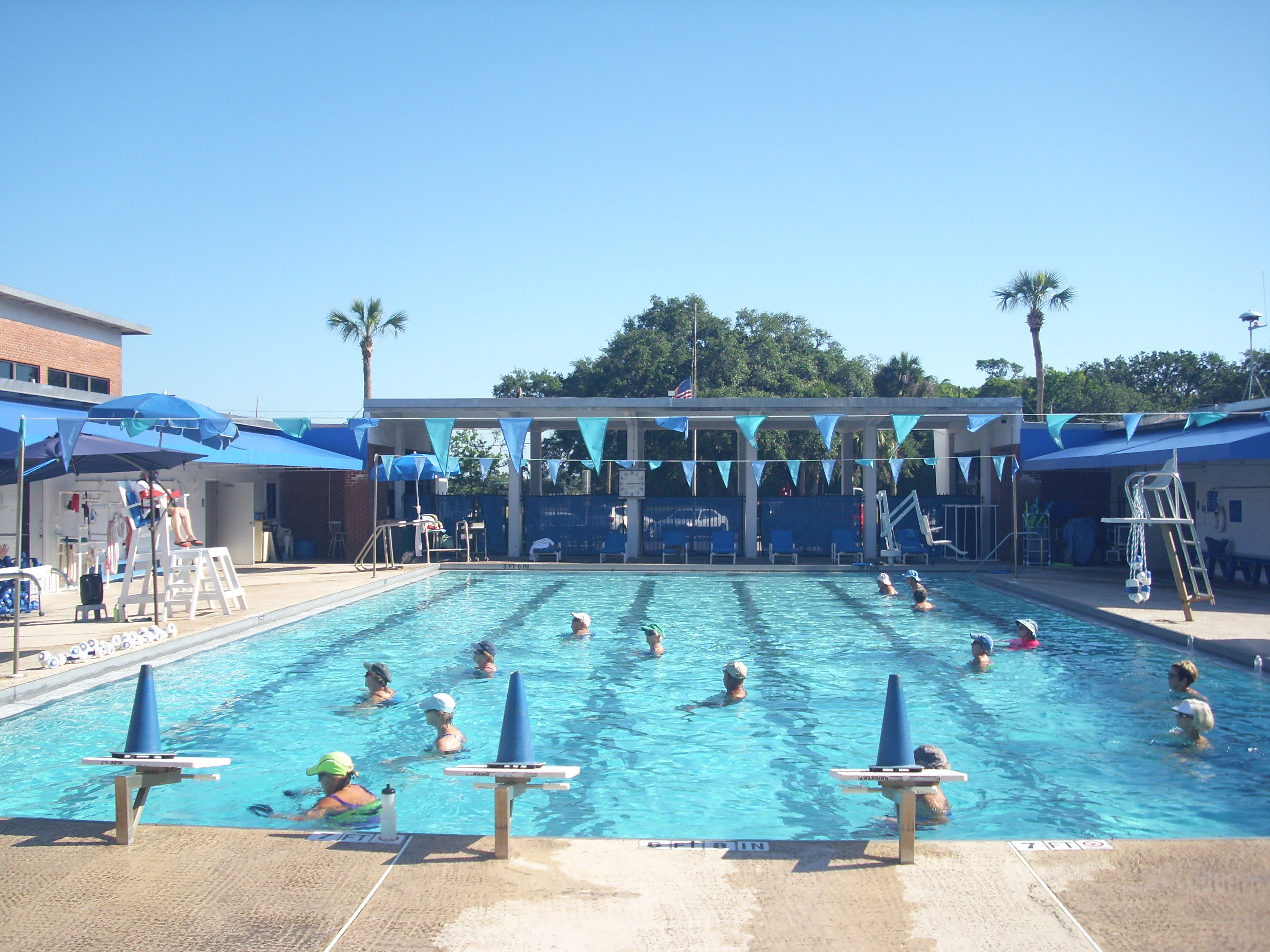 Water Aerobics At The Atlantic Recreation Center Pool Fernandina