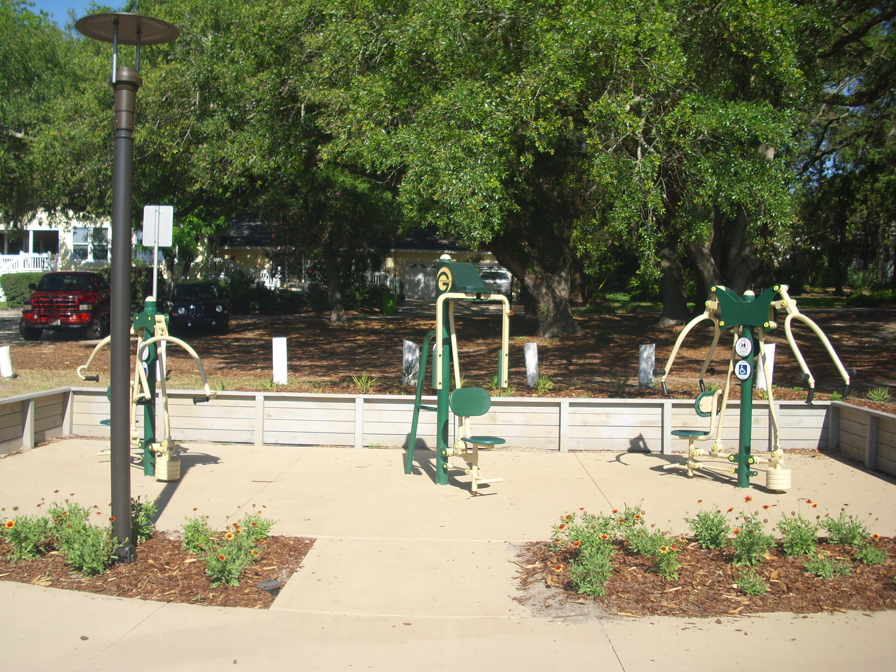 Egans Creek Park fitness