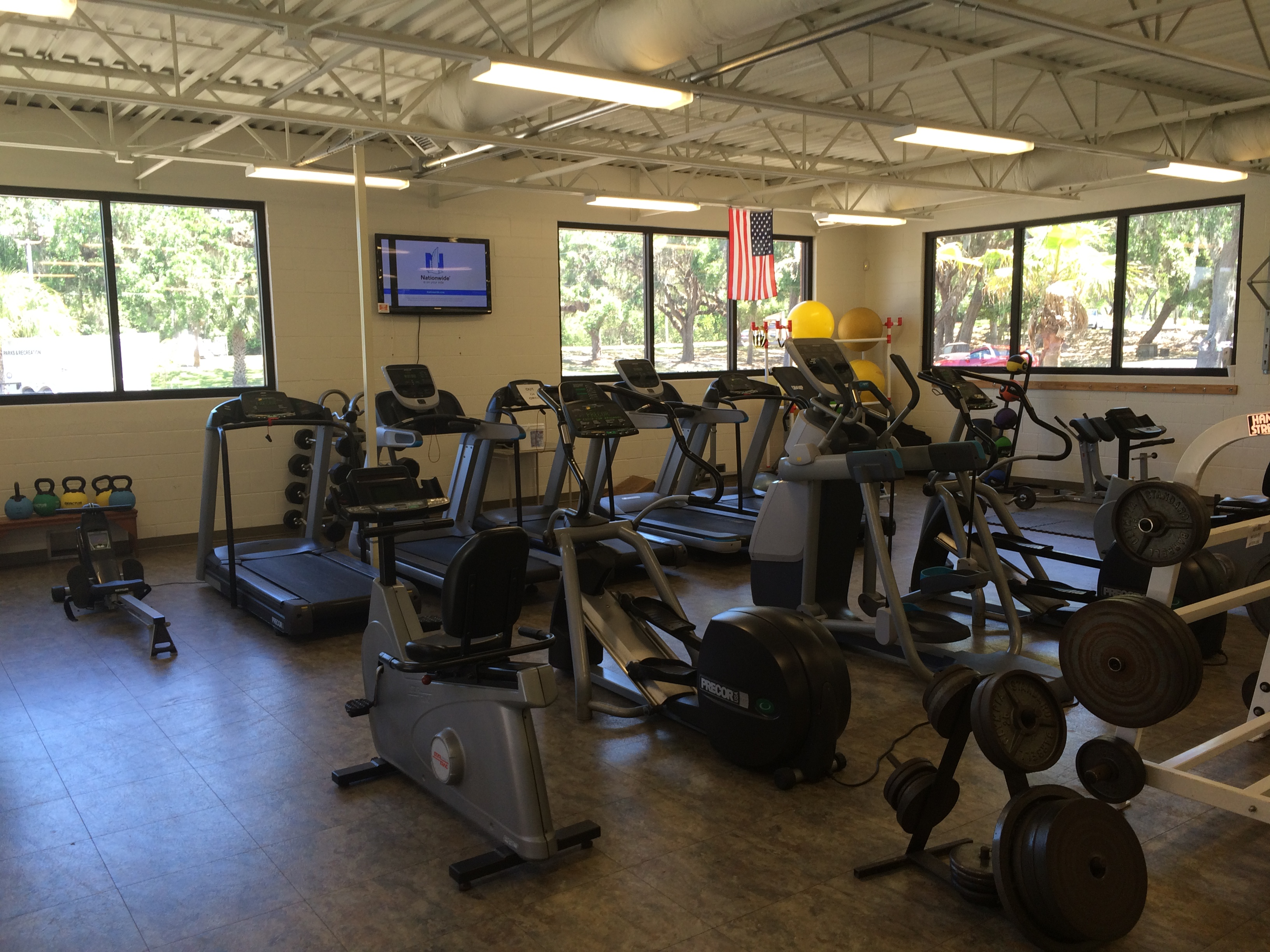 Atlantic Fitness Room