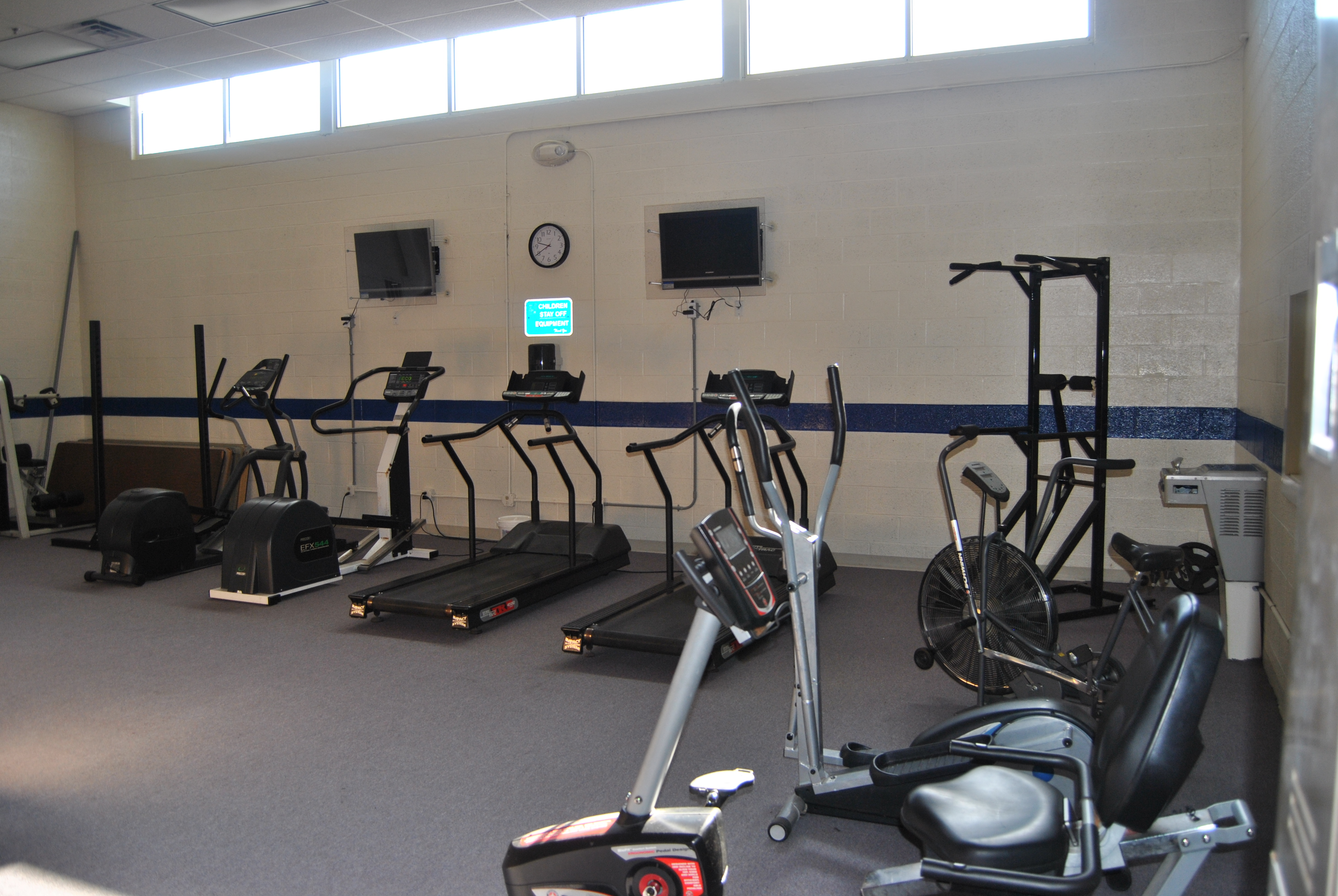 Peck Gym Cardio Area