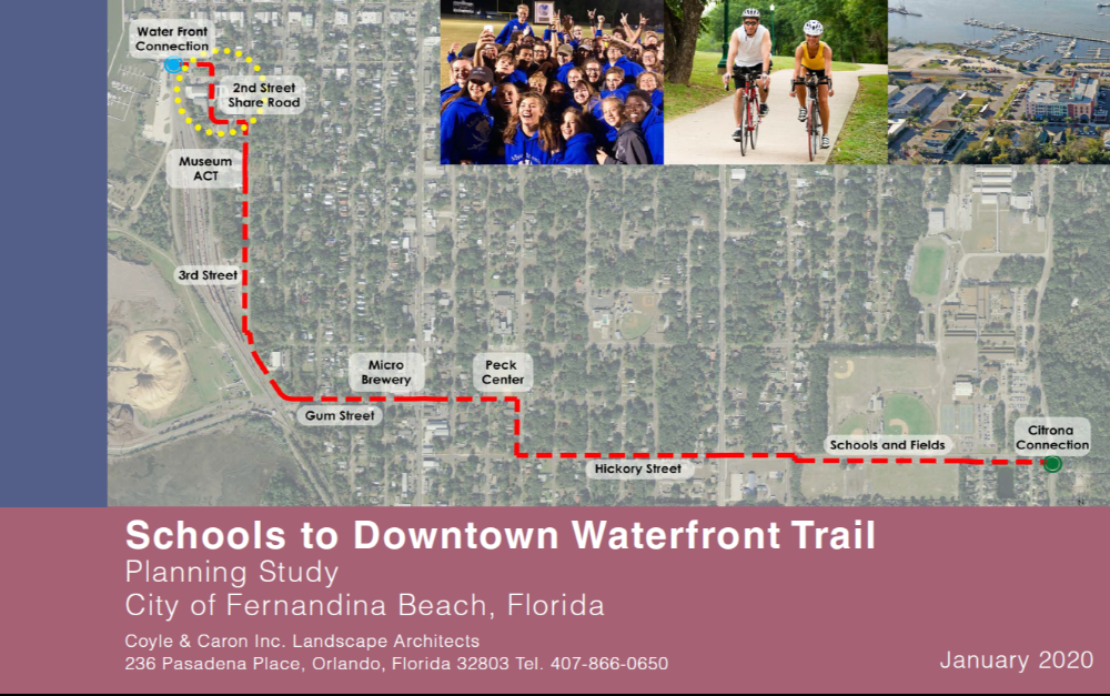 Schools to Downtown Waterfront Trail Planning Study January 2020 COVER
