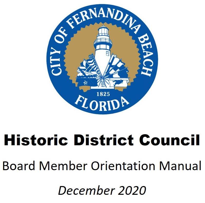 HDC Board Member Orientation Manual  December 2020