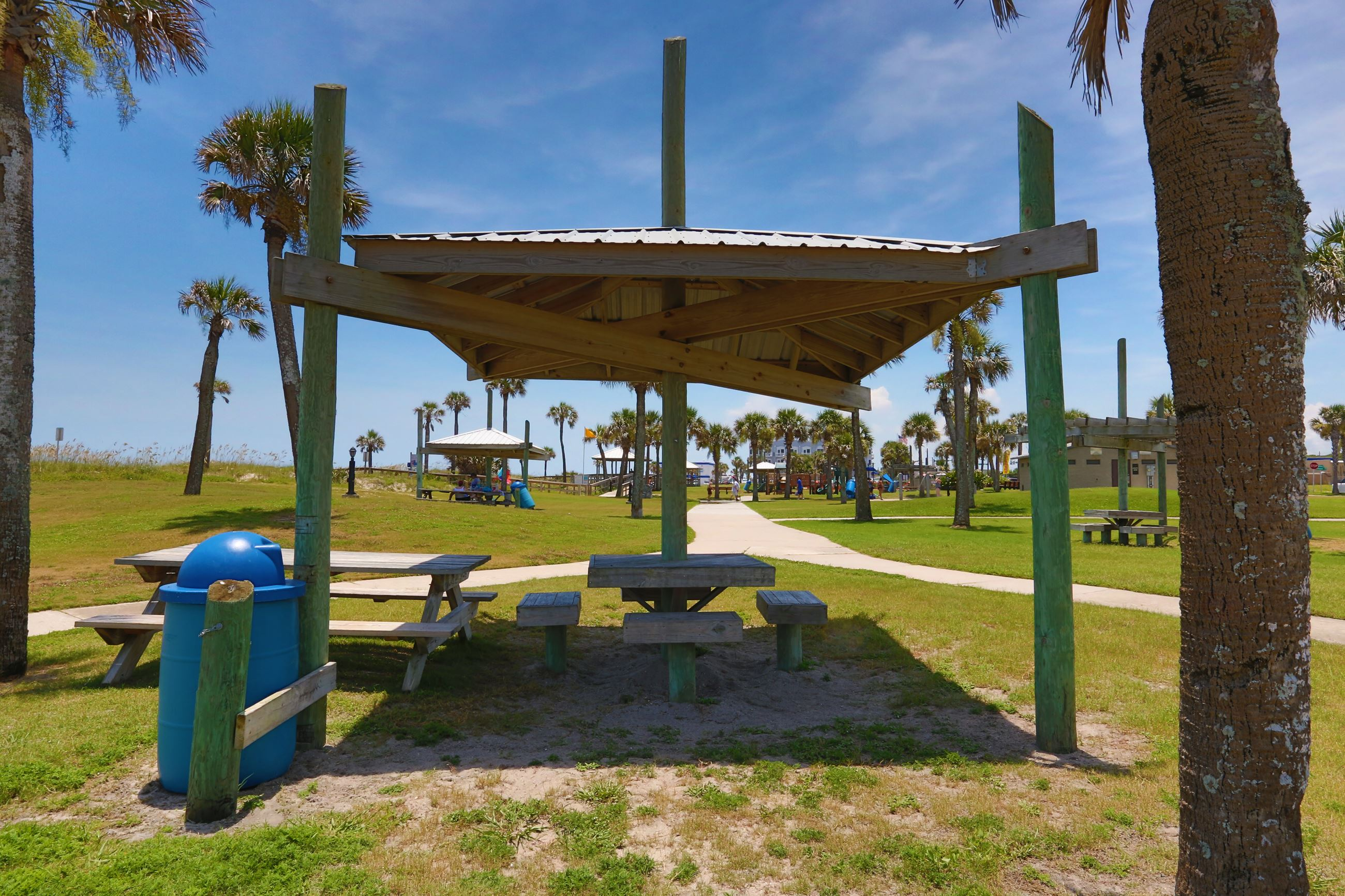 Main Beach Park Covered Picnic Area 8